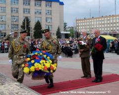 В Северодонецке торжественно отметили День Победы