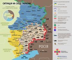 7 загиблих і 9 поранених українських військових у зоні АТО за минулу добу – полковник Олександр Мотузяник