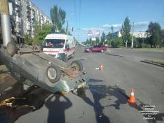 В наслідок ДТП в Сєвєродонецьку постраждав один з водіїв