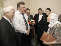 100-летие отпраздновала бывшая работница Северодонецкого «Азота»