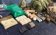 СБУ предотвратила вывоз оружия и боеприпасов из зоны АТО