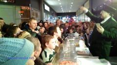 Телеведущий Борис Бурда открыл супермаркет «Семья» в Северодонецке