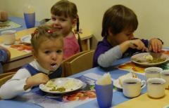 В Северодонецке увеличили стоимость питания в детсадах