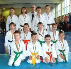 У клуба «ТОРА» 13 медалей