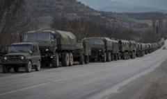 В Украину въехали две колонны военной техники — СНБО