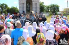 В Северодонецке состоялся Крестный ход вокруг города