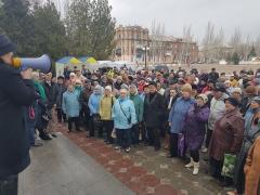 Акцию с требованием провести перевыборы прошла в Северодонецке