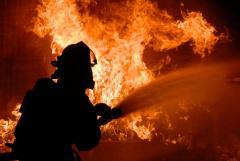 В Боровском горел дом