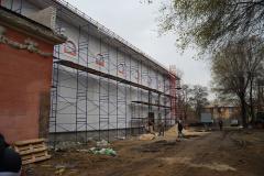 В Северодонецке проходит ремонт областного академического украинского музыкально-драматического театра