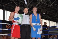 На Всеукраїнській першості з боксу наш спортсмен став чемпіоном