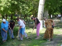 Громадські роботи на користь громади
