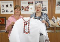 """В музее северодонецкого """"Азота"""" прошла выставка вышиванок"""