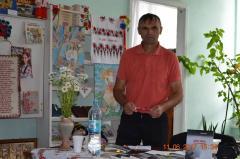 В Северодонецке прошла встреча с писателем-бойцом АТО