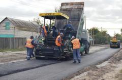 В Боровском появилась новая качественная дорога