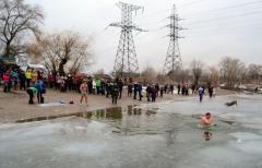 Праздник Крещения в Северодонецке